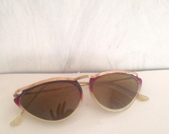 Butterfly sunglasses- mid century glasses