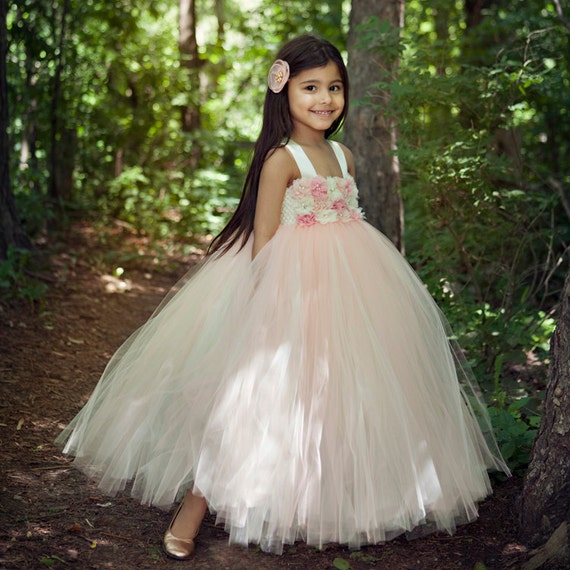 Blush Tutu Dress Flower Girl Dress Flower Girl Dresses By