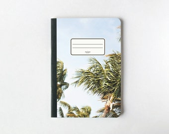 Sand and Sun Notebook - Journal - Sketchbook - Blank pages - Lined pages