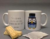 Hercule Poirowl Mug (Hercule Poirot)
