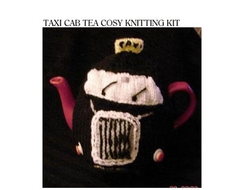 KNITTING KIT Mug Cosy Knitting Kit by KnittingPatternShop