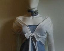 Cream bride cover up,knitted wedding bolero, Long Sleeve Wedding Jacket,bolero bridesmaid accessories,bridal shrug,wedding wrap