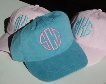 Monogrammed Cap,  Monogrammed Hat,  Personalized Cap, Golf Hat, Baseball Hat, Softball Hat, Personalized Hat