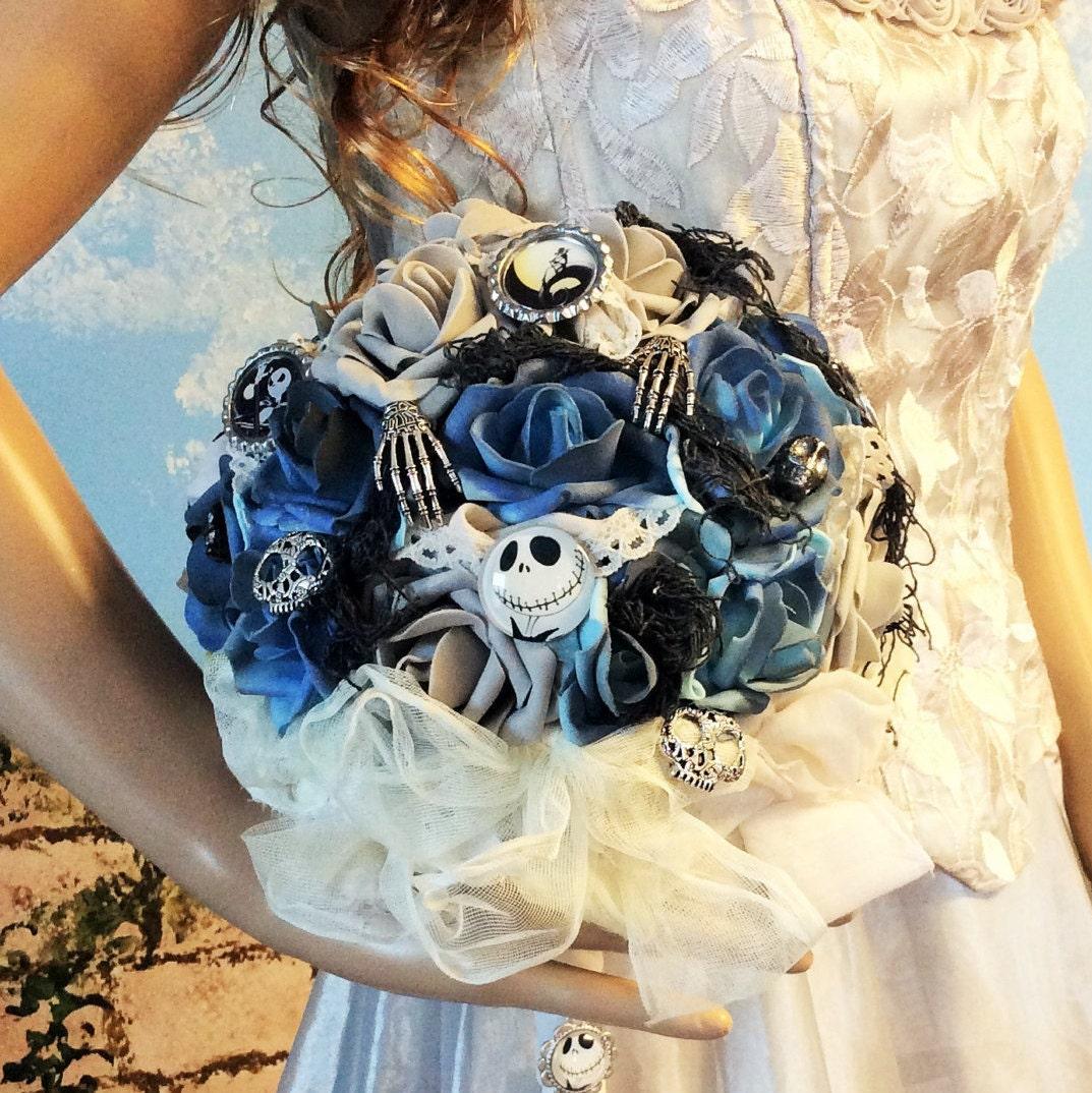 Nightmare Before Christmas Wedding Bouquet/Bridal