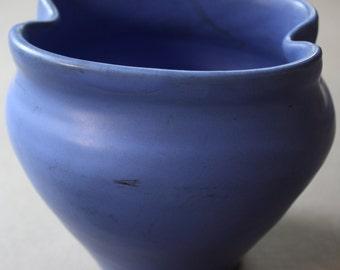 Louisville Pottery Company Cherokee Pottery Blue Vase