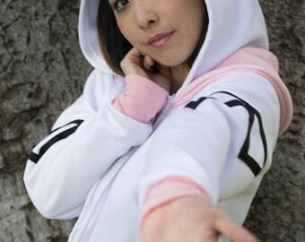 Macross Lynn Minmay Cosplay Costume Hoodie Jacket