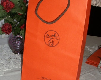 Authentic Hermes Shopping bag 16 3/4 tall