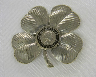 """Sterling Silver 925 Lincoln's New Salem ILL State Park Pin 2"""" Long ET 6094"""