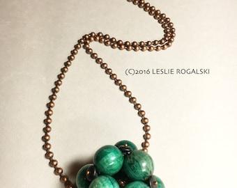 Green Molecule(TM) Necklace