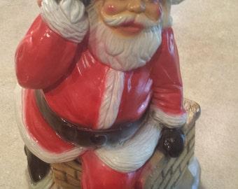 Vintage 1950s Santa Claus