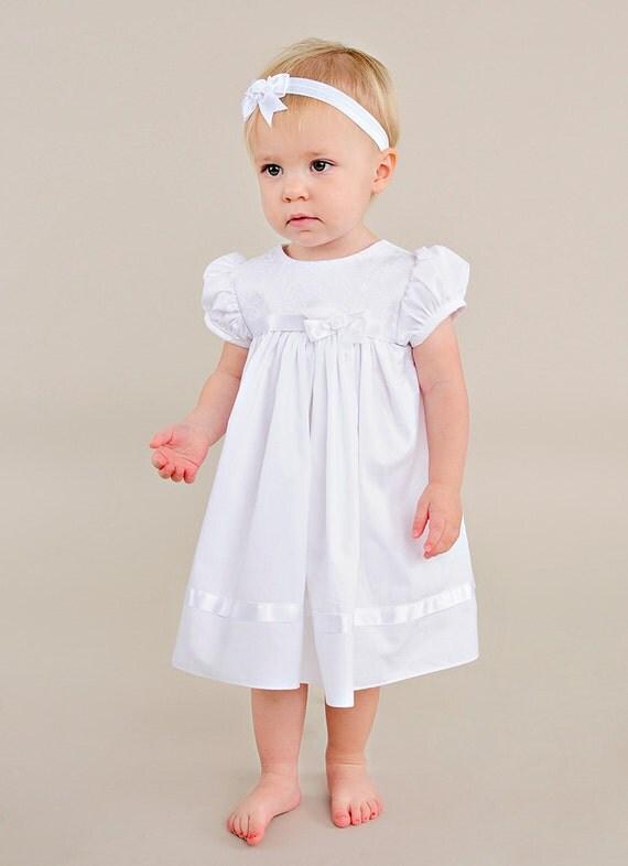 Sarah Short Christening Dress Baptism Dress Blessing Dress