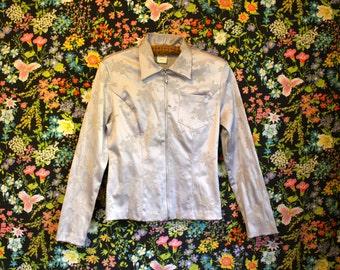 Vintage 90s Jacket * Lavender *