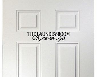 The Laundry Room - Vinyl Wall Art, Vinyl Decal, Home Decor Laundry Room