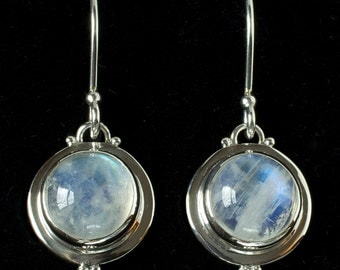 Moonstone Earrings: CASEY