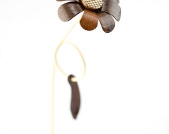 Wooden Flower - Randi #0016
