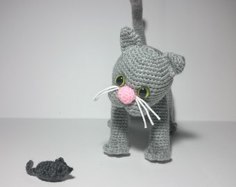 120 crochet pattern cat ostap amigurumi soft toy pdf file. Black Bedroom Furniture Sets. Home Design Ideas