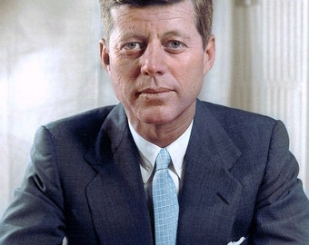 John F. Kennedy, Kennedy pose's for a portrait around 1960