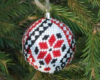 Christmas gift Ukrainian christmas decor embroidery ornaments ukrainian decoration amazing ornaments ethnic ornaments handmade ornaments