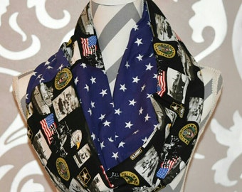 Army Scarf Army Warrior Army Wife Donation to Wounded Warrior Project with Each Scarf