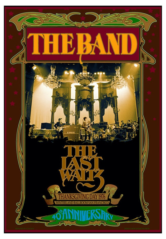 The Band 40th anniversary Last Waltz