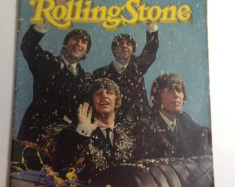 Special Beatles Anniversary Issue Rolling Stone Magazine Issue No. 415 February 16, 1984