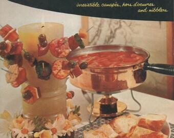 Vintage Appetizer Booklet, 1950's