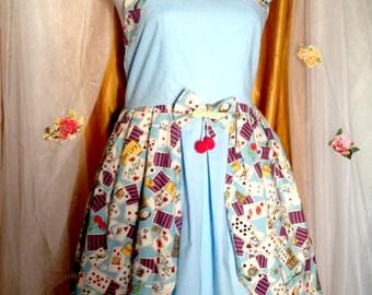 JSK blue ver. Gimme Cookies! Lolita dress