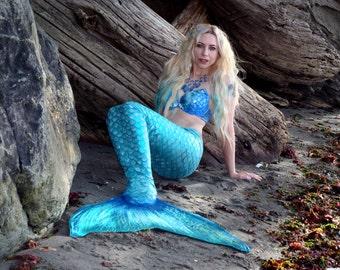 Swimmable Mermaid Tail- handmade