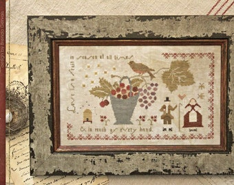 Pattern: In Season Cross Stitch - Country Stitches - With Thy Needle and Thread - Brenda Gervais