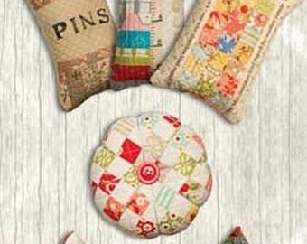 Pattern: Little Bites Morsel Quilted Pincushions Pattern by Schnibbles by Miss Rosie Quilt Co