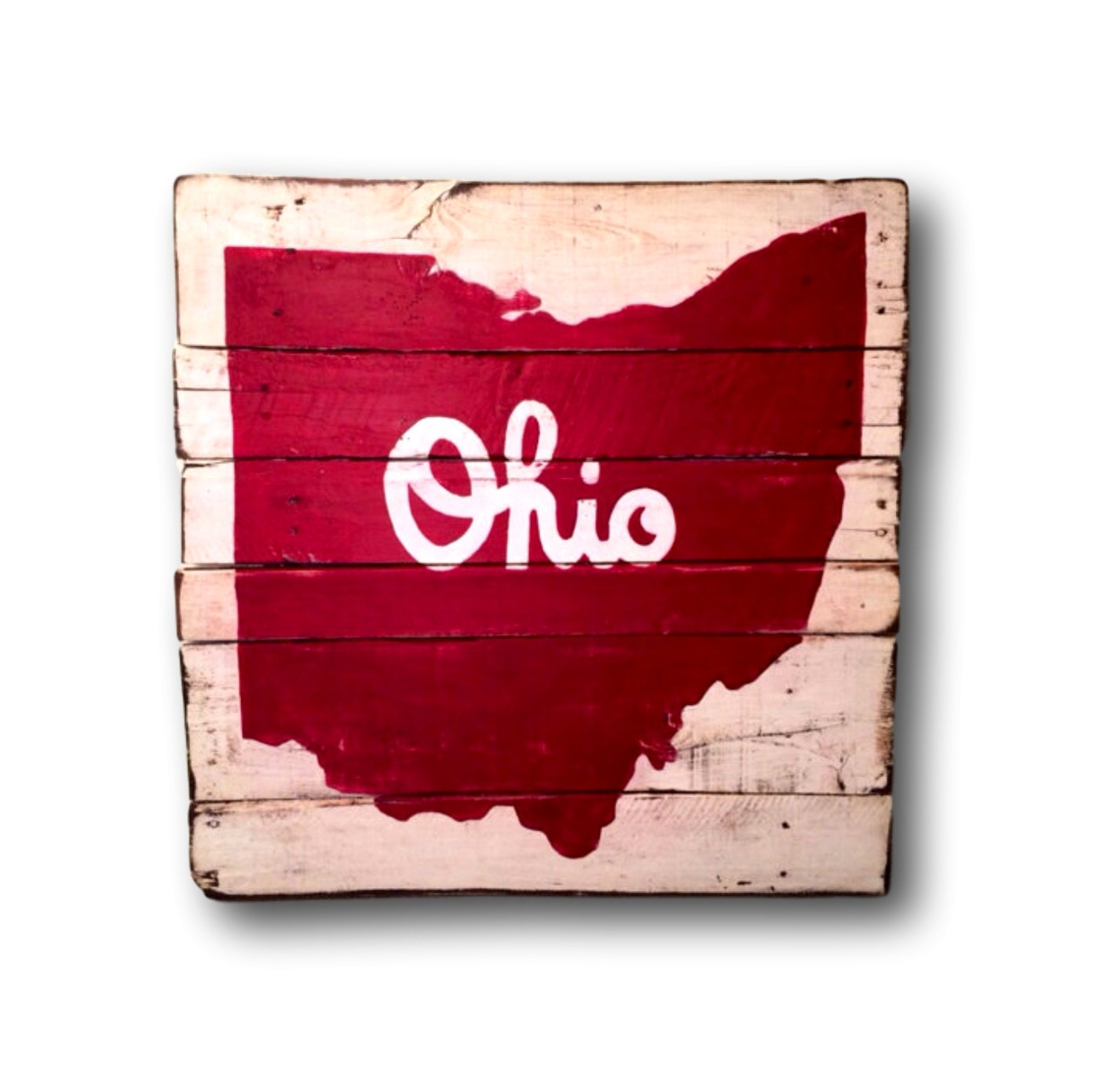 Ohio state sign block o sign graduation gift dorm decor script ohio sign state of ohio pallet sign ohio art state sign amipublicfo Image collections