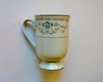 Diana China Pedestal Mug - by Fine China of Japan Imported by Wallace International Co