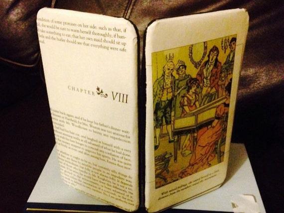 Jane Austen Emma Book Wallet Clutch - Chapter 8