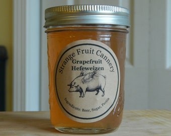Grapefruit Hefeweizen Jelly, 8 oz.