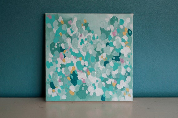 "SALE Original 10x10 Painting ""Spring"" FREE SHIPPING"