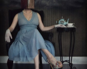 Tales of Wonderland - LIMITED EDITION, Matted Print, Surreal, Whimsical, Fine Art Photography