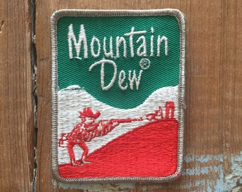 Vintage Patch - Mountain Dew