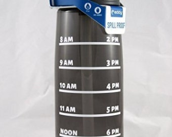 Daily Water Tracker - .75L Camelbak Bottle - Water Bottle, Water Intake, Water Measurements, Drink Water, Motivation, Water Consumption,Time