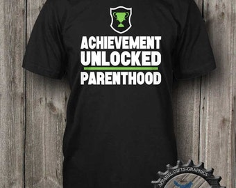 Parent Shirt,Gamer Shirt,New Dad Shirt,New Mom Shirt,Geekery Shirt,Gamer Baby Announcement,Funny parent shirt,Future Nerd,Funny shirt_BFC15