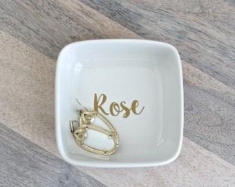 Name Ring Dish