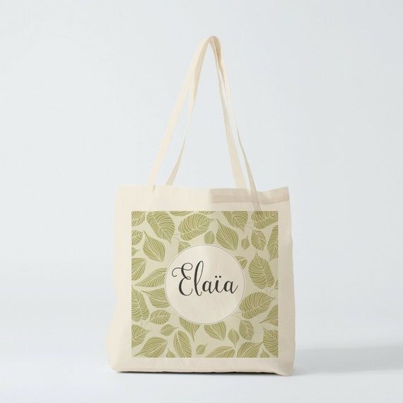 tote bag pr nom sac en toile cabas coton sac de courses. Black Bedroom Furniture Sets. Home Design Ideas