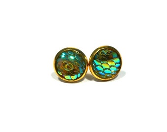 Dragon scales studs