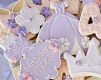 Fairytale Princess Sophia Handmade and Decorated Sugar Cookies