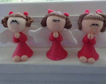 Angel Praying  Baptism or  First Communion Favors