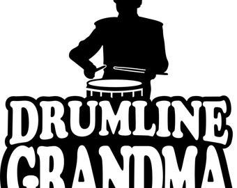 Drumline Grandma Hoodie/ Drumline Grandma Gift/ Drumline Grandma Clothing/ Drum Line Grandma/ Boy Drummer Drumline Grandma Hoodie Sweatshirt