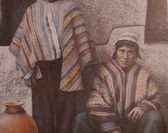 Aymara Potters in Cuzco Peru - Hand Tinted Photo Print from Lands and Peoples, VII