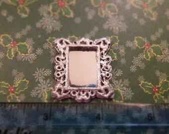 Handmade Dollhouse Miniature Wall Mirror