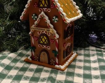 Wooden Gingerbread House Inn