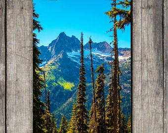 North Cascades National Park - Scenic Northwest - Washington State - Fine Art Print - Canvas Gallery Wrap - Metal Print