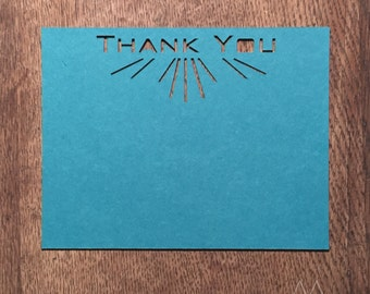 The F. Scott Thank You Cards